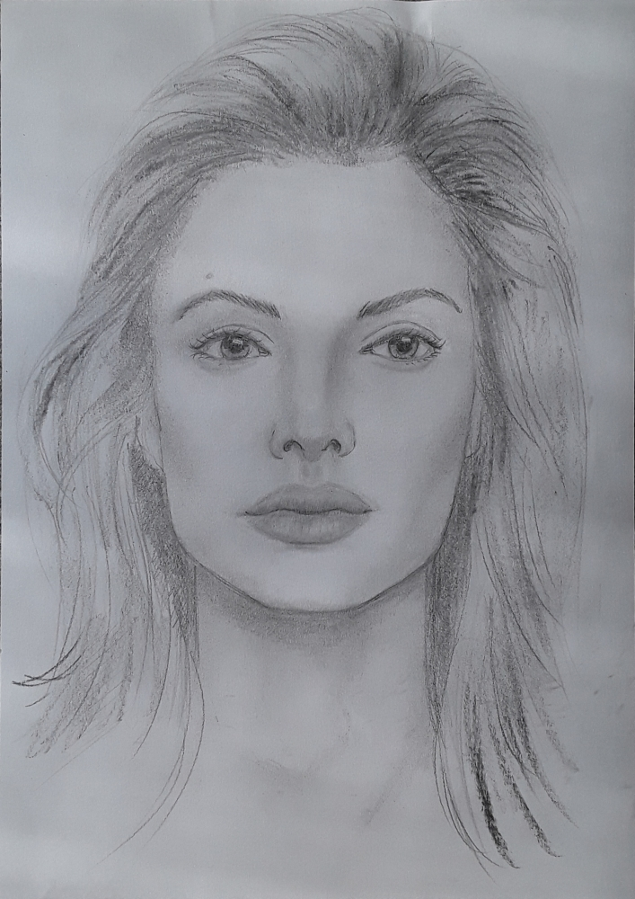 Angelina Jolie by Papero